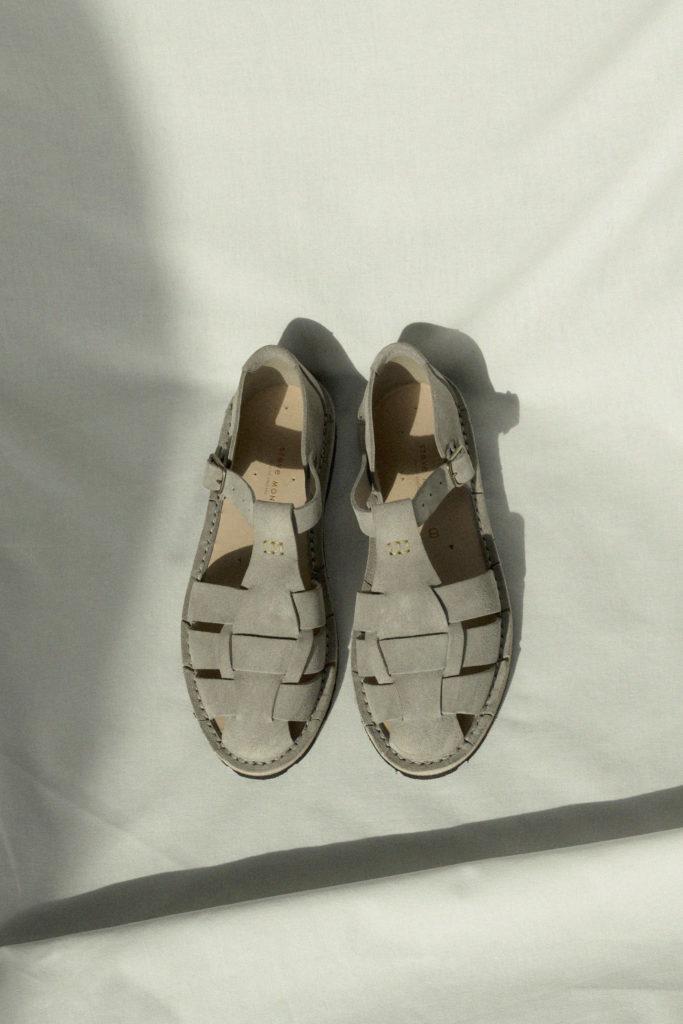 Artisanal sandals 10/01 <i>grey</i>