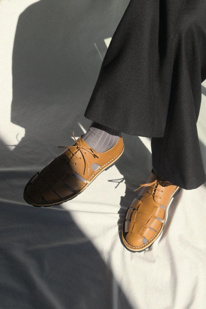 Artisanal shoes 10/05 <i>tobacco</i>