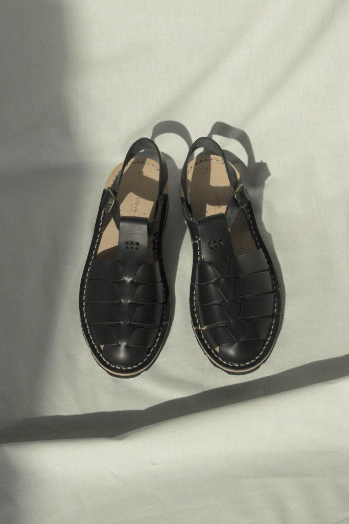 Artisanal sandals 10/09 <i>black</i>