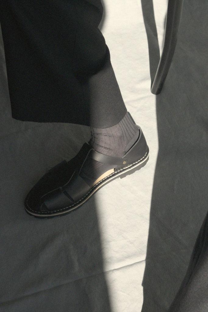 Artisanal sandals 10/17 <i>black</i>